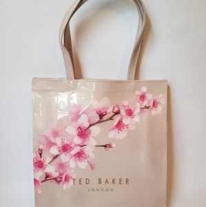Ted Baker Shopper Tote Cherry Blossom Pink NEW